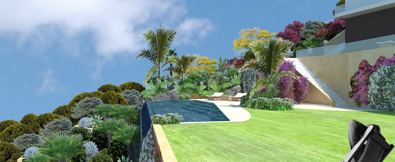 Design of a private garden in Maresme