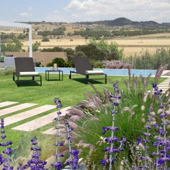 Garden & Pool design at la Segarra