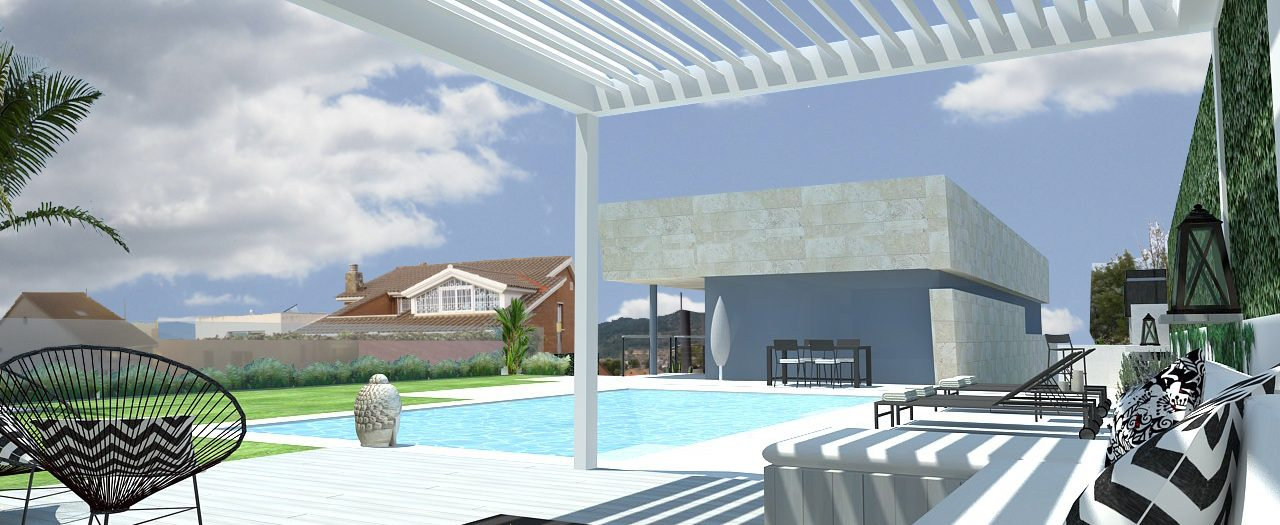 Garden & Pool Design at Esplugues