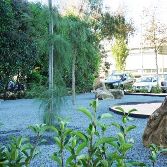 Gardens and outdoors Hotel Travelodge Fira