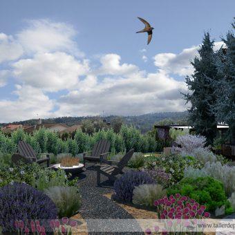 Vols tenir la certesa com quedarà el teu jardí ara i d'aquí a cinc anys? Dissenys 3D per triar el teu jardí