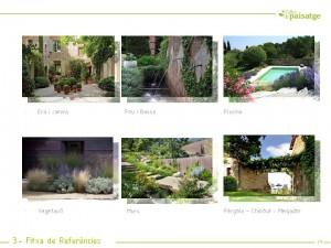Fitxa de referències jardins