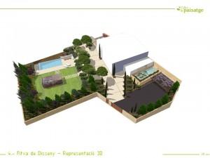 Fitxa de disseny 3D render