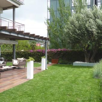 Jardín privado en Esplugues