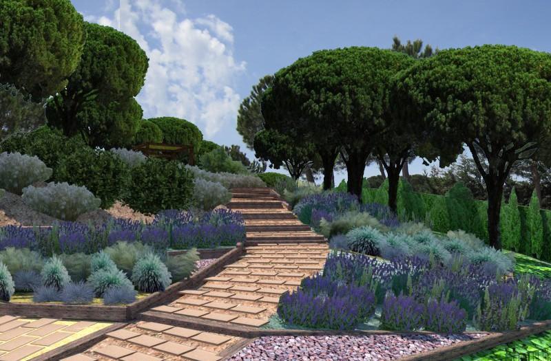 Diseño Jardín comunitario en Tossa de Mar
