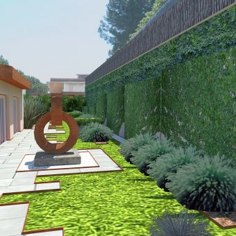 Design of a private garden in Alella