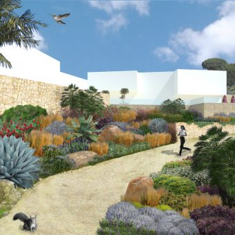 Design of a Garden in Costa Brava