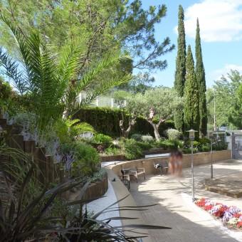 Jardín comunitario en Esplugues