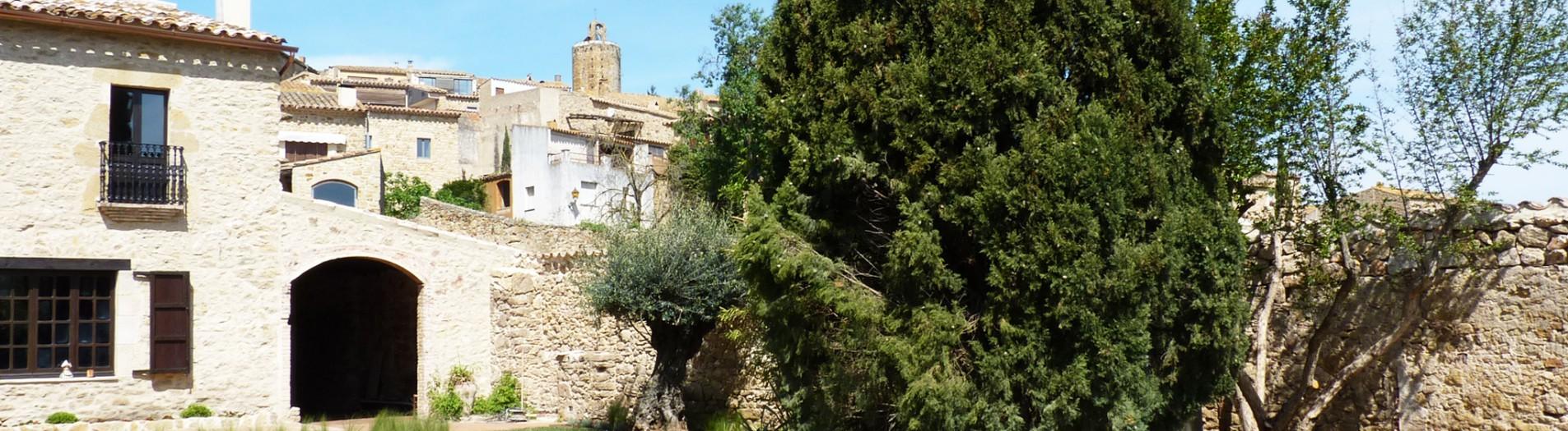 Jardín de pueblo en Empordà