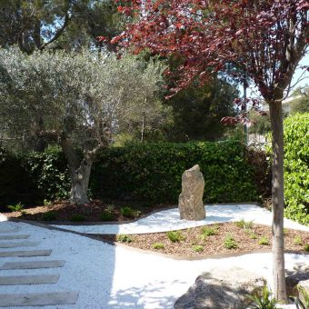 Jardín en el Baix Llobregat