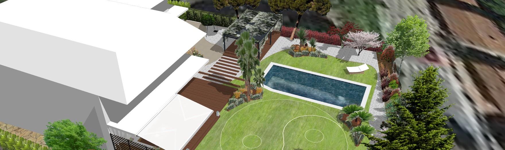 Design of a feng-shui garden in Sant Esteve Sesrovires