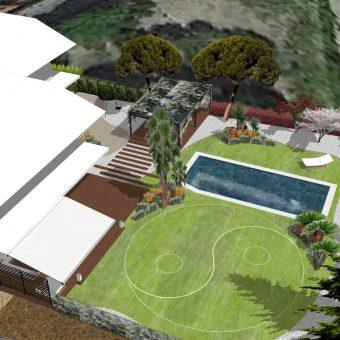 Diseño jardín feng-shui a Sant Esteve Sesrovires