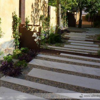 Cas d'èxit : un jardí molt difícil !