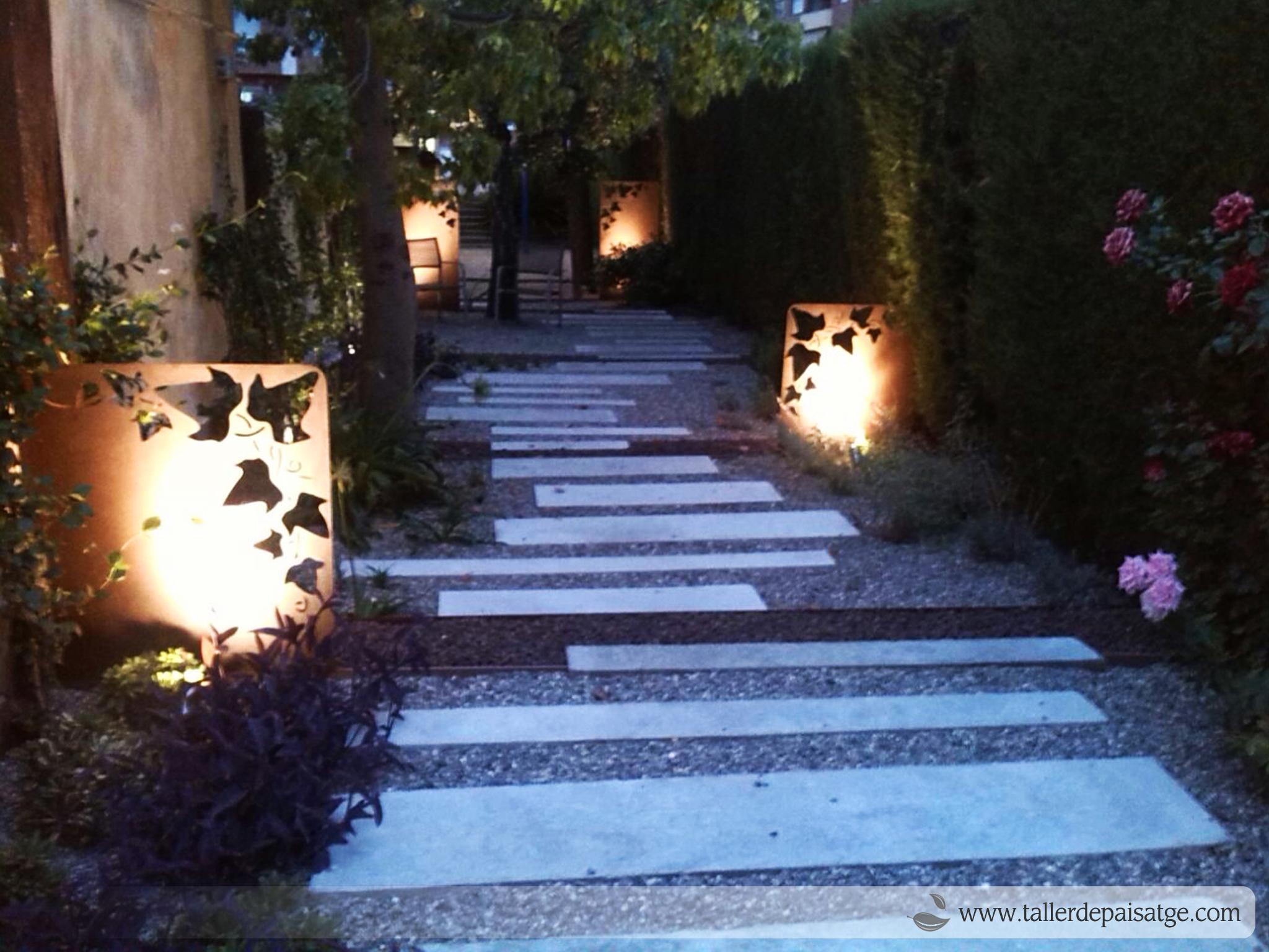 Disseny il·luminació jardí
