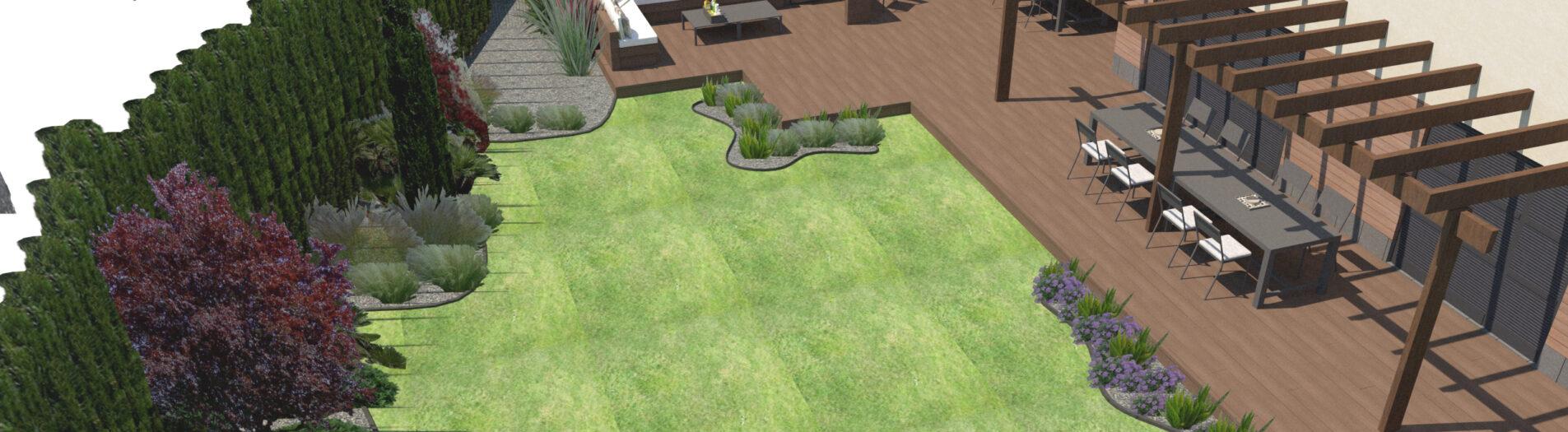 Diseño de Jardín en Reus