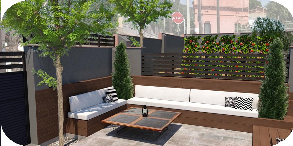 Diseño de Jardín en St Just