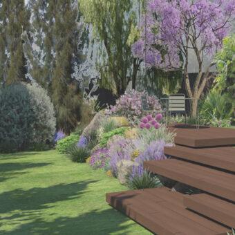 Disseny jardí i piscina a Sant Cugat