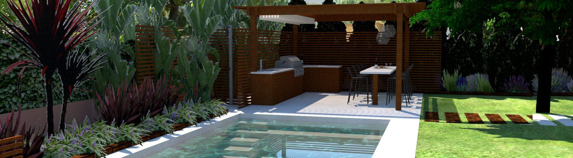 Diseño Jardín y Piscina en Tarragona