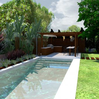 Garden & Pool Design at Tarragona