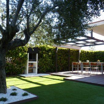 Remodelació jardí a Creixell