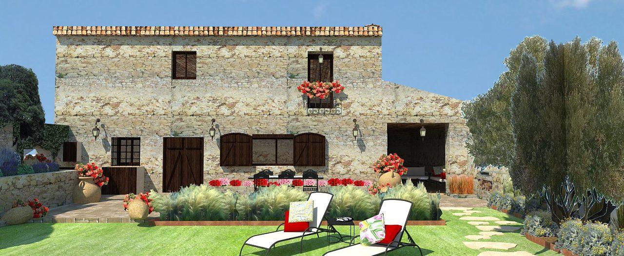 Diseño Jardín de pueblo en Empordà